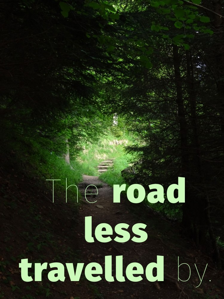 The-road-less-travelled-by